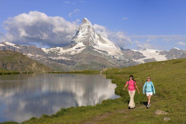 Le sommet du Cervin près de Zermatt - Suisse