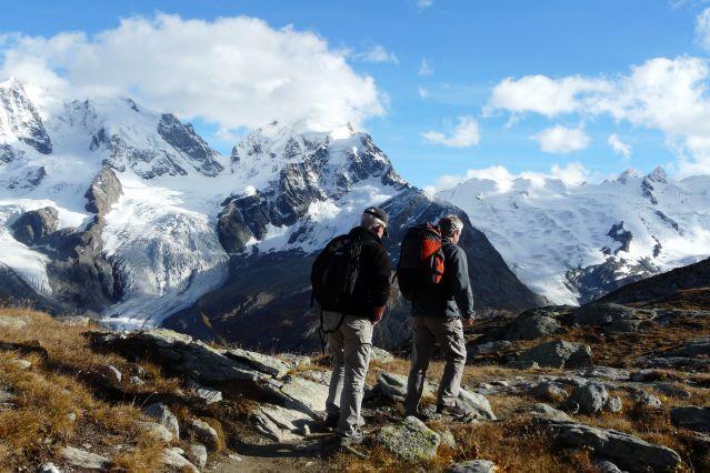 Randonnée au coeur de la chaîne de la Bernina - Suisse