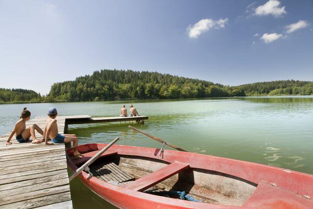 baignade vers le lac de constance - Allemagne
