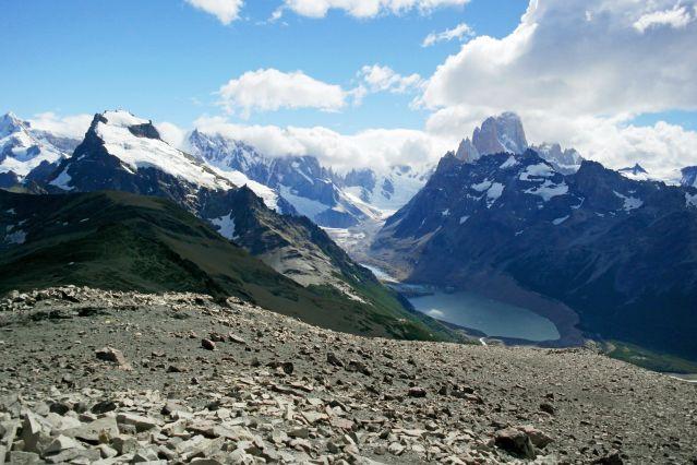 La laguna Torre près du Fitz Roy dans le Parc national des glaciers - Argentine