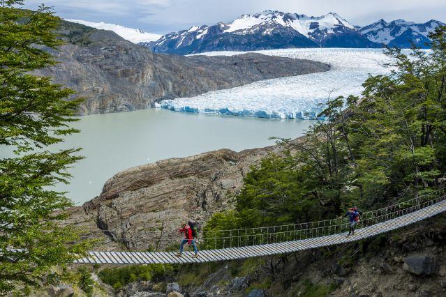 Mirador du glacier Grey - Parc national Torres del Paine - Patagonie - Chili