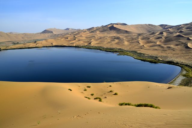 Lac de Badain Jaran - Mongolie-Intérieure - Chine