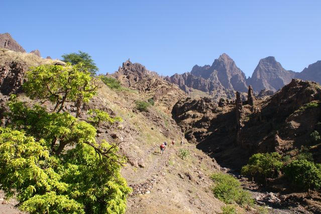 Col de Forquinha - Santo Antao - Cap Vert