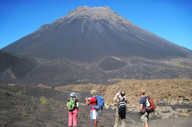 Le Pico do Fogo sur l île de Fogo - Cap Vert
