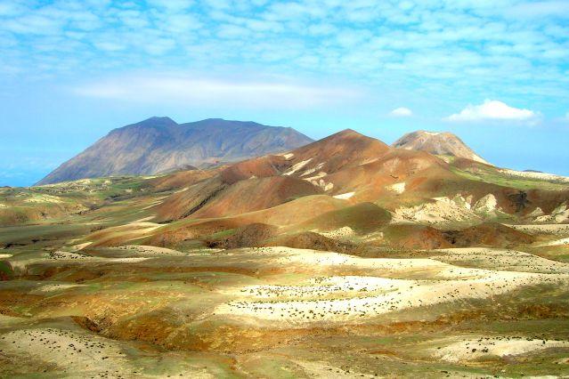Paysage près de Tarafal sur Santo Antao - Cap Vert