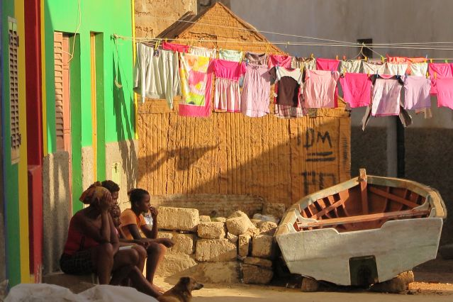 Le village de Salamansa - Cap-Vert
