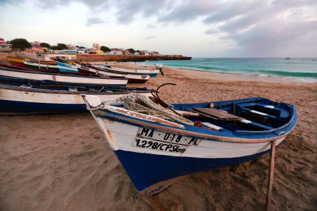 Bateaux - Porto Inglês - Maio - Cap Vert