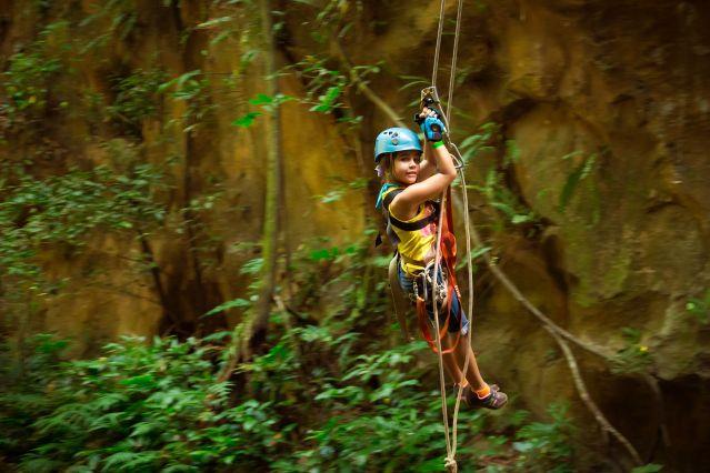 Dans les lianes - Costa Rica