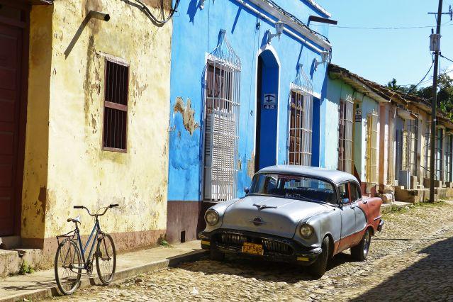 Dans les rues de Trinidad - Cuba