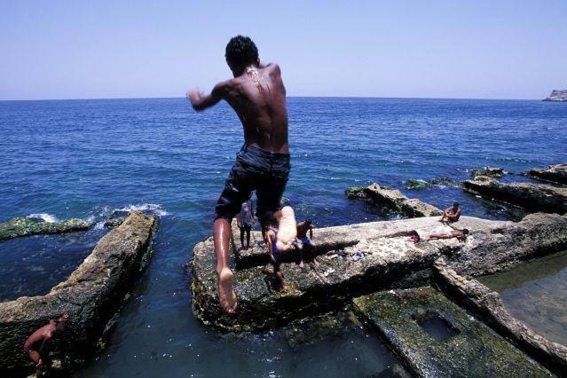 Plongeurs à La Havane - Cuba