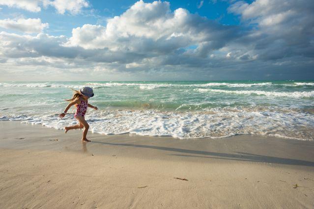 Courir sur la plage - Cuba