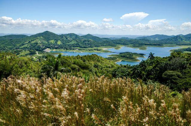 Lac depuis le sentier Loma Atalaya - El Salto de Hanabanilla - Cuba