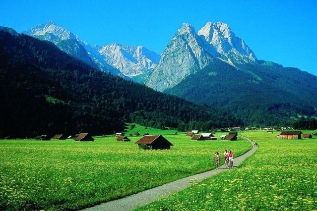 Mount Waxenstein - Garmisch Partenkirchen - Bavière - Allemagne