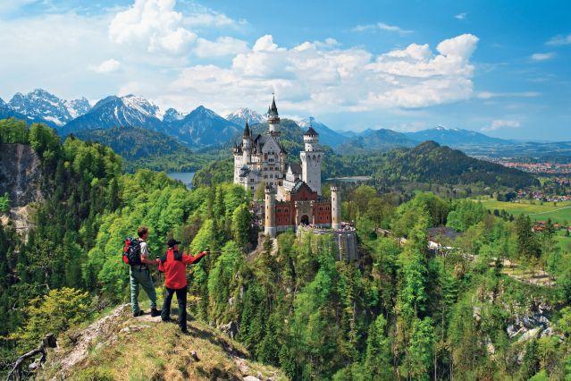 Randonn 233 E Allemagne Autriche De La Bavi 232 Re Au Tyrol