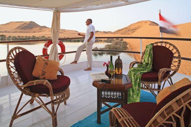 Lac Nasser - Nubie - Egypte