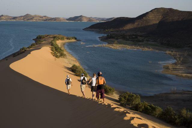 Voyage Randonnée et pêche sur le lac Nasser