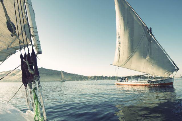 Voyage En felouque, le long du Nil