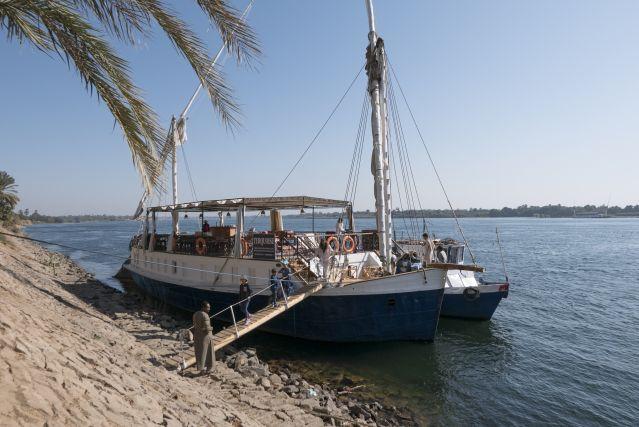 Voyage Sandal sur le Nil
