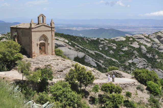 Ermitage de Sant Joan -  Monastère de Monserrat - Espagne