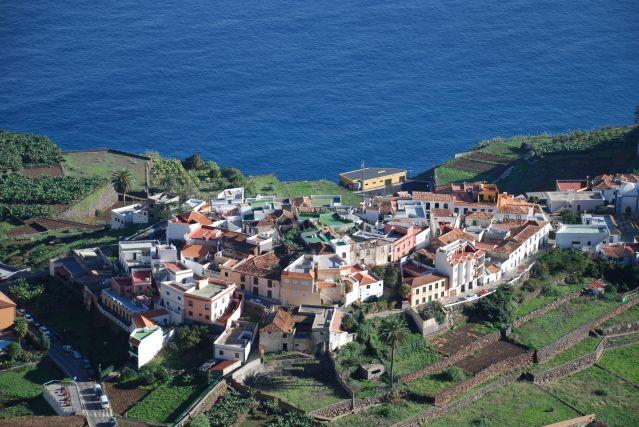 Le village d Agulo - La Gomera - Iles Canaries