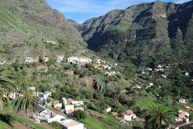Vallée gran rey - La Gomera - Iles Canaries