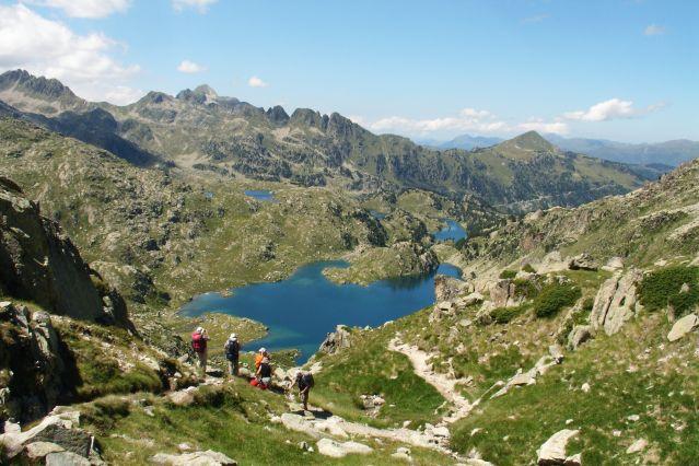 Le Lac de Gerber dans les Pyrénées - Espagne