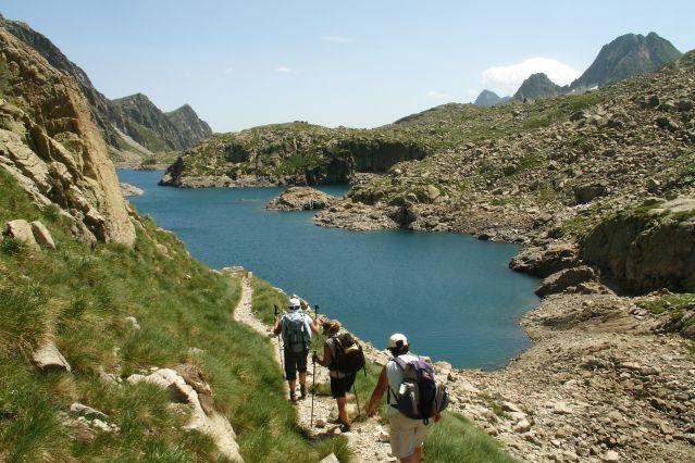 © Sarah Modolo - Randonnée près du Lac Esthan de Rius dans les Pyrénées - Espagne