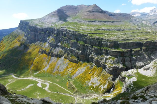 Le Canyon d Ordesa dans les Pyrénées - Espagne
