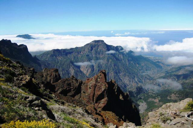 Canaries – île de La Palma – Los Molinos de Breñas Garden