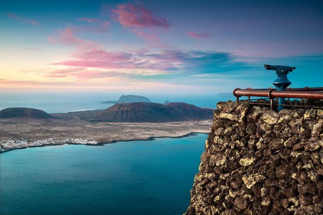 Vue du Mirador Del Rio - Lanzarote - Espagne - Europe