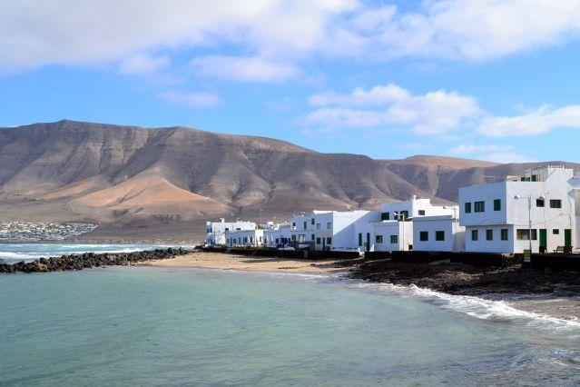 Calleta de Famara - Lanzarote - Îles Canaries - Espagne