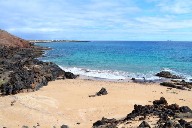 Plage La Graciosa - Lanzarote - Îles Canaries - Espagne