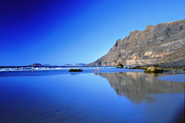 Plage de Famara - Lanzarote - Îles Canaries - Espagne