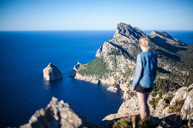 Point de vue sur la baie de Pollença - Majorque - Baléares - Espagne