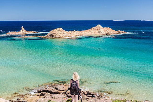 Voyage Minorque, belles calanques méditerranéennes