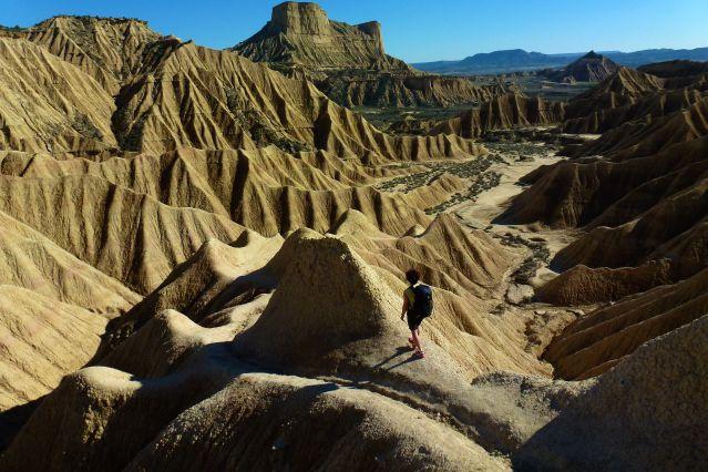 Bardenas Reales, un désert au pied des Pyrénées