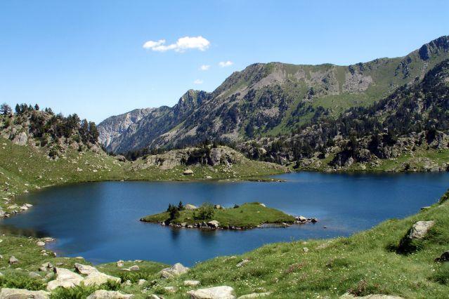 Lac de l Île de Colomers - Espagne