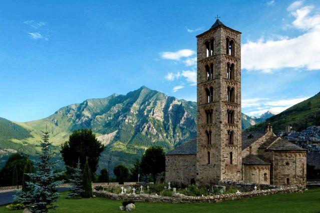 Église - La Vall de Boi - Espagne