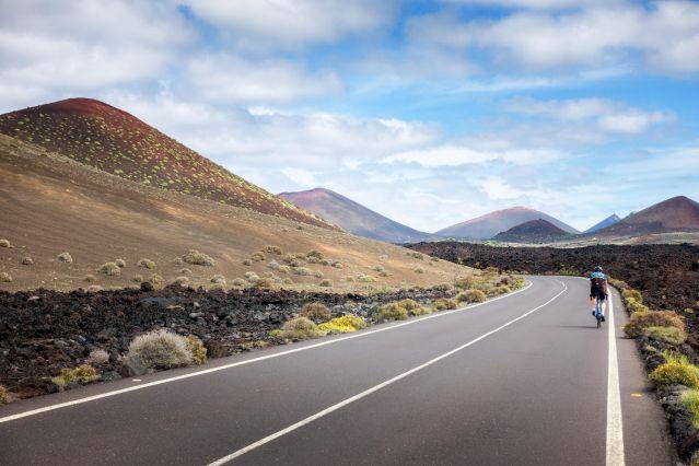 Voyage Lanzarote, terre de volcans à vélo