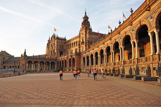 Plaza de España - Séville - Andalousie - Espagne