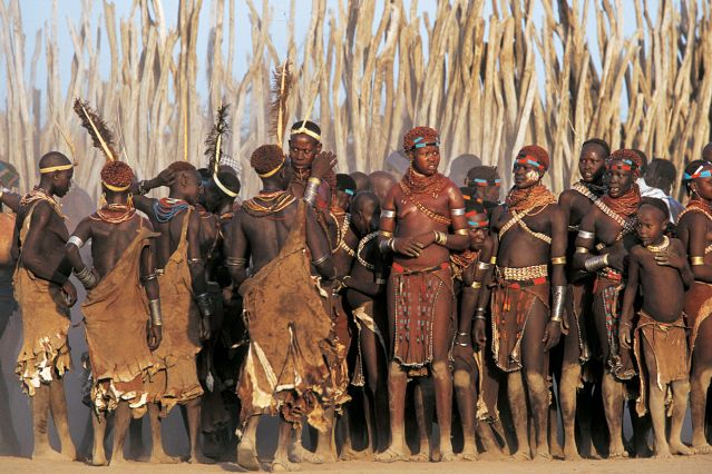 Peuple de l Omo - Vallée du Rift - Ethiopie