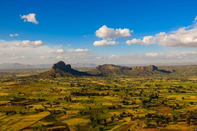 Massif du Gheralta dans la Région du Tigré - Ethiopie