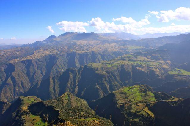 Imet Gogo - Falaises du Simien - Ethiopie