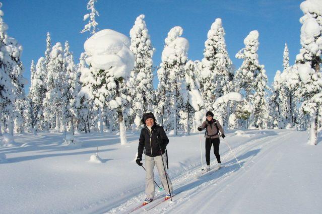 Randonnée près de Hossa, à la frontière russe - Région de Kainuu - Finlande