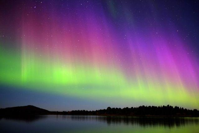 Aurores boréales - Laponie - Suède