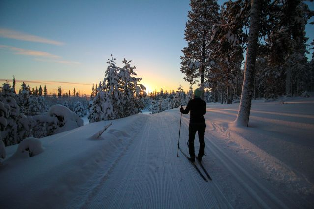 Voyage Ski de fond en Laponie