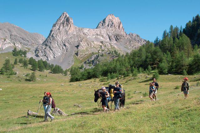Parc naturel régional du Queyras - Hautes Alpes - Provence Alpes Côte d Azur - France