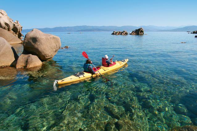 Voyage Kayak, canyon et rando en Corse