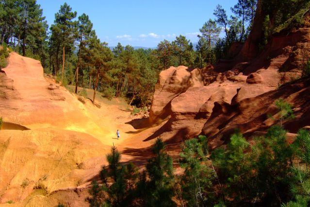 Le Colorado Provencal Randonnee Luberon 4 Jours