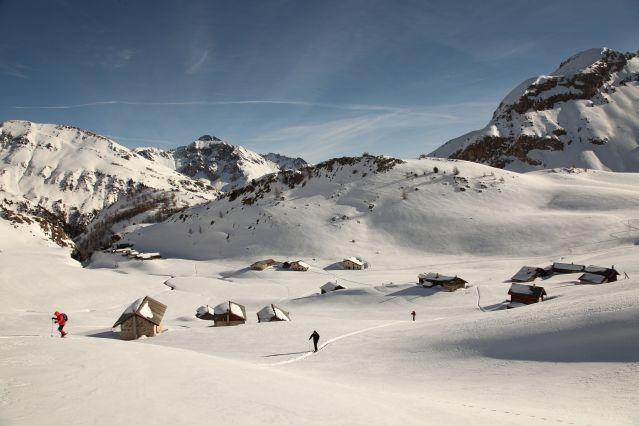 Voyage Les cinq vallées du Queyras à ski de fond